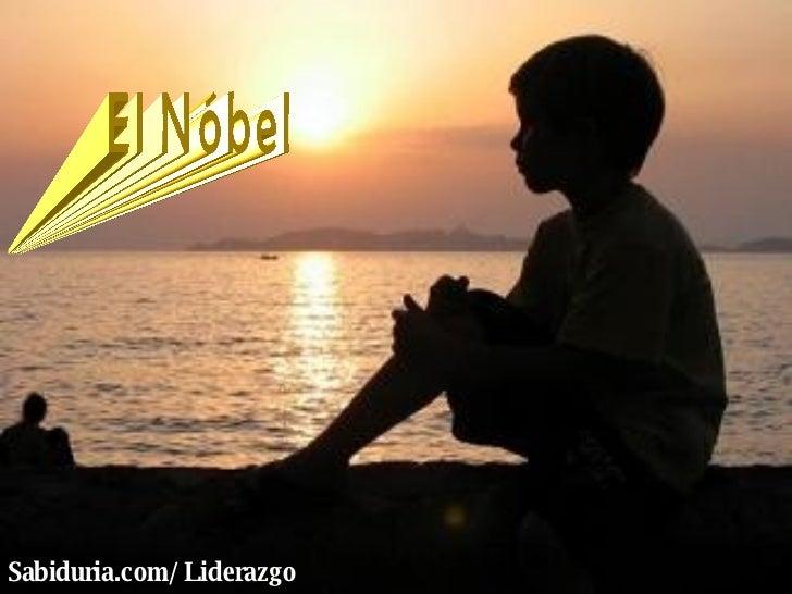 El Nóbel Sabiduria.com/Liderazgo
