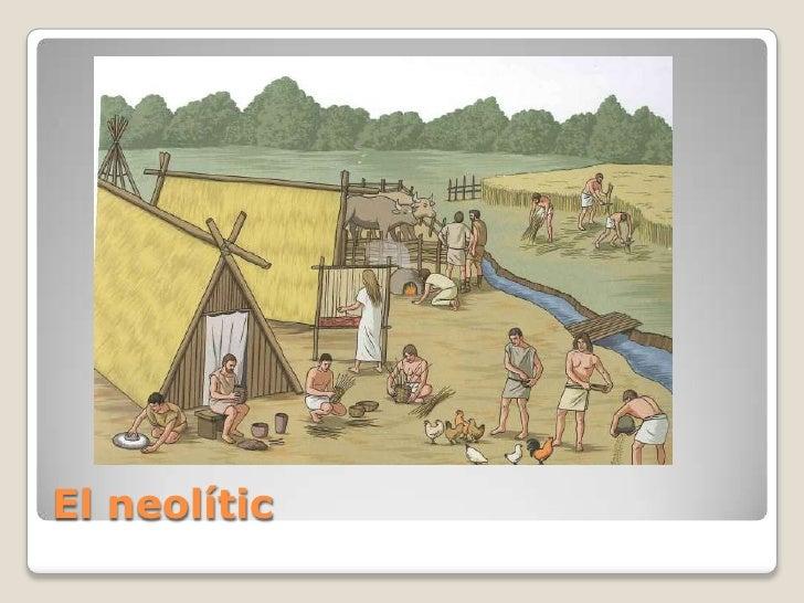 El neolític<br />