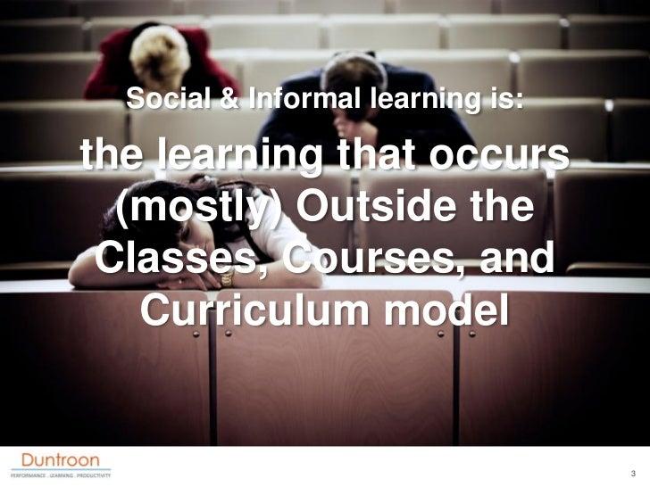 8 Reasons to Focus on Informal & Social Learning Slide 3