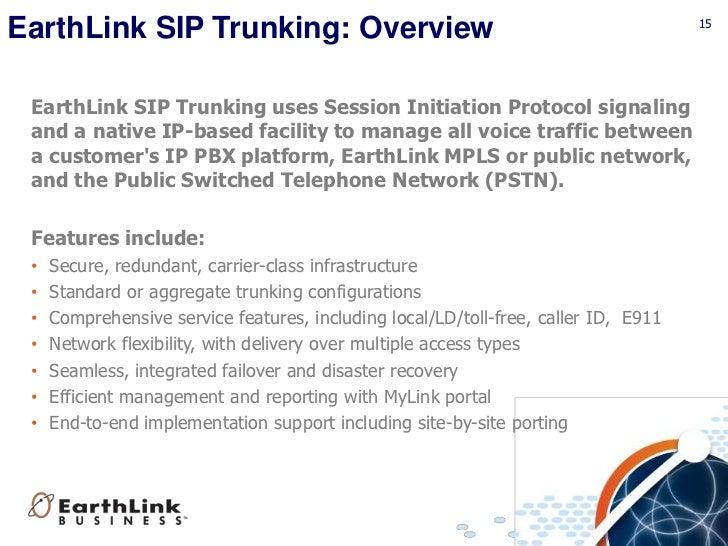 Elnk Business Mpls Sip Overview