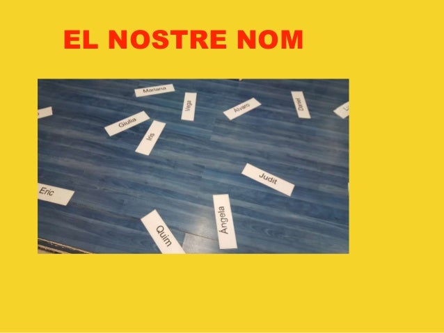 EL NOSTRE NOM