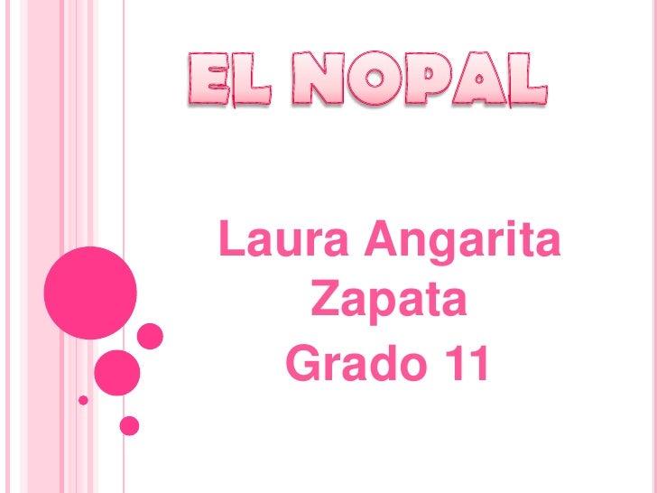 Laura Angarita   Zapata  Grado 11