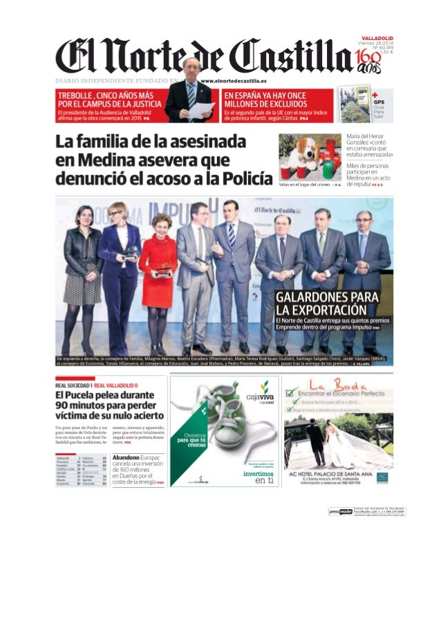 Nuestra CEO en la portada del Norte de Castilla