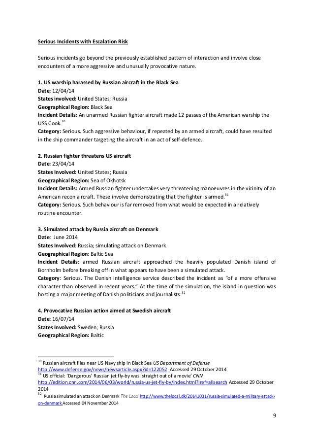 Eln russia west full list of incidents in 2014-2015 between