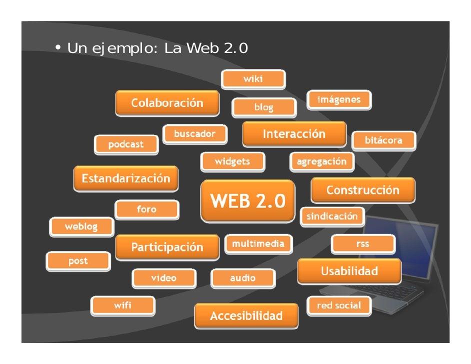 Un ejemplo: La Web 2.0