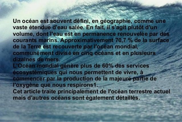El oceano Slide 2