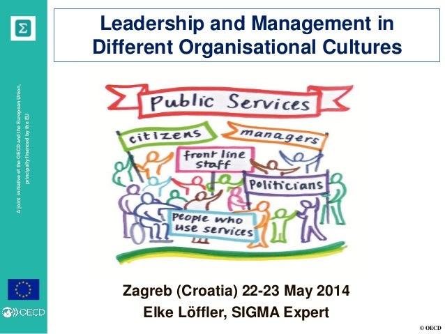 © OECD AjointinitiativeoftheOECDandtheEuropeanUnion, principallyfinancedbytheEU Zagreb (Croatia) 22-23 May 2014 Elke Löffl...