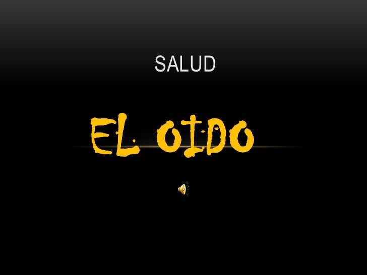 SALUDEL OIDO