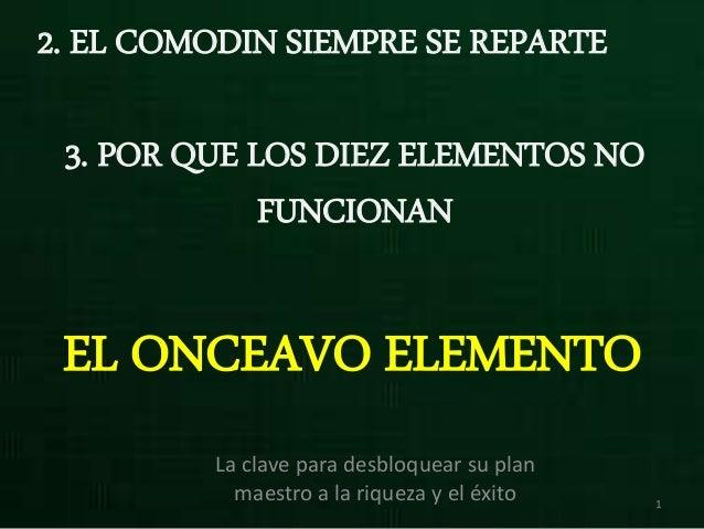 ONCEAVO ELEMENTO PDF DOWNLOAD