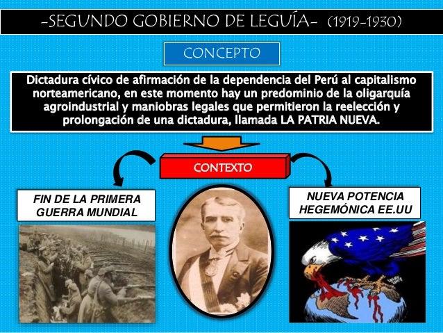 EL ONCENIO DE LEGUÍA Slide 2