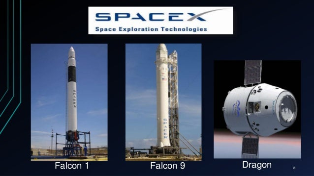 Falcon 1 Falcon 9 Dragon 8
