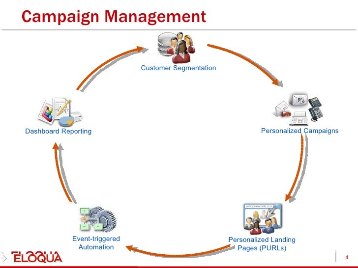 eloqua lead and campaign management resume