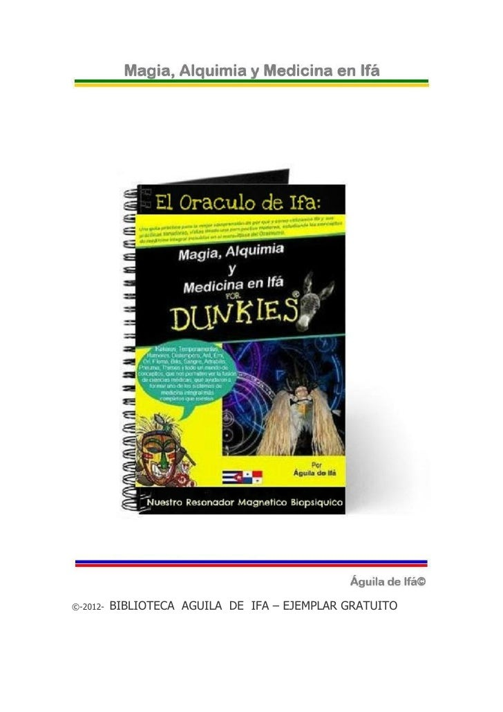 ©-2012-   BIBLIOTECA AGUILA DE IFA – EJEMPLAR GRATUITO