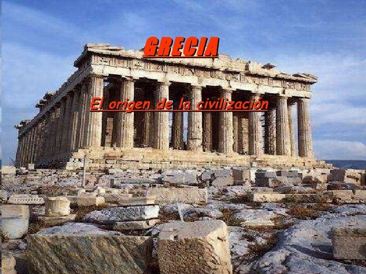 El origen de la civilizaci n griega for Y griega exterieur