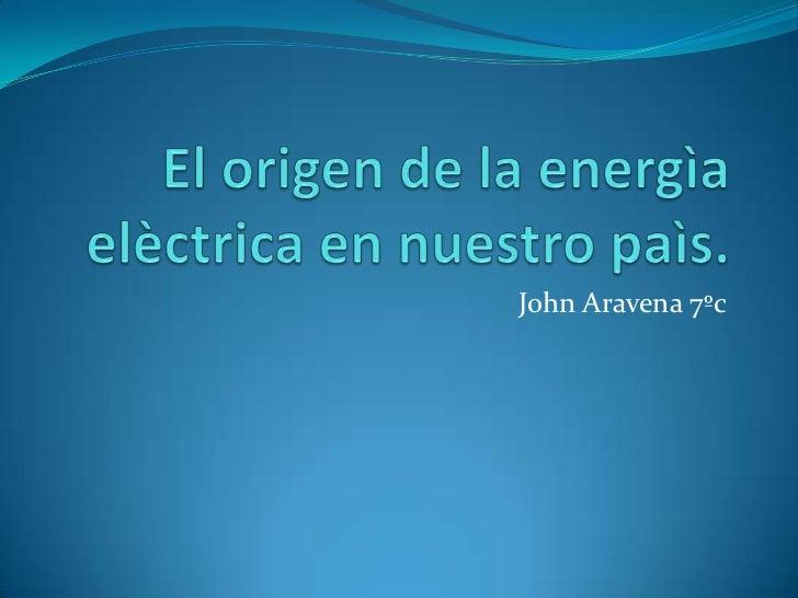 John Aravena 7ºc