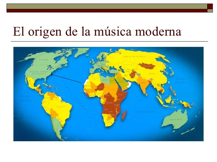 El origen de la música moderna Slide 2