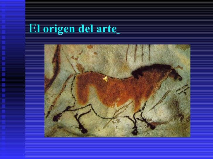 El origen del arte