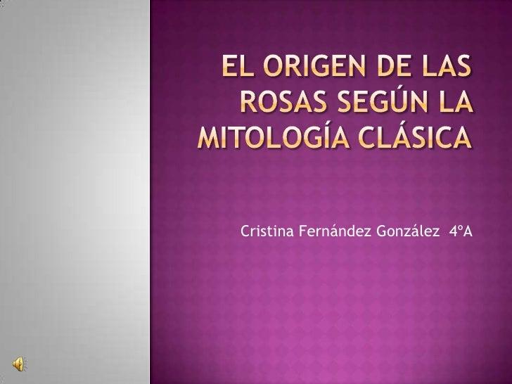 Cristina Fernández González 4ºA