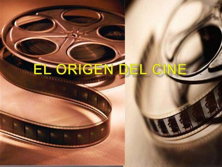    El cine comenzó cuando el    inventor de la bombilla, Thomas    Alva Edison patento el    kinetoscopio creado en su   ...