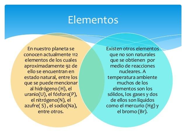 El origen de los elementos qumicos elementos urtaz Choice Image