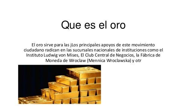 Metal Conductor El oro