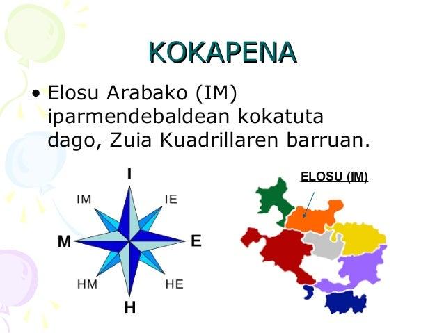 KOKAPENAKOKAPENA • Elosu Arabako (IM) iparmendebaldean kokatuta dago, Zuia Kuadrillaren barruan. ELOSU (IM)