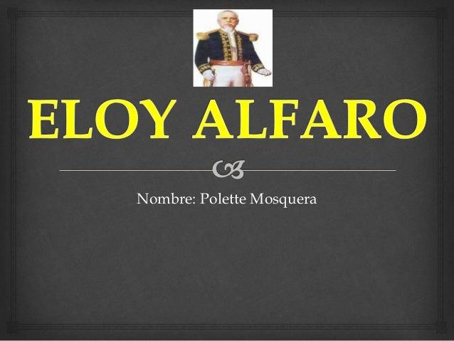 Nombre: Polette Mosquera