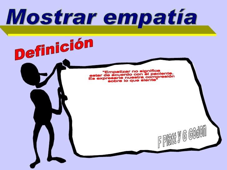 Adesivo Frase Significado Empatia: El Paciente Dificil SesióN