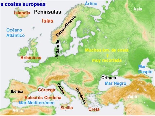 El paisaje de europa y espaa tema 7