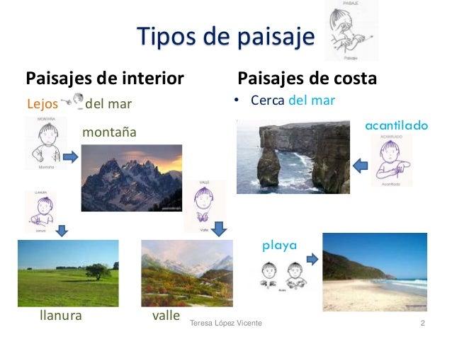 El paisaje natural para sordos - Tipos de paisajes ...