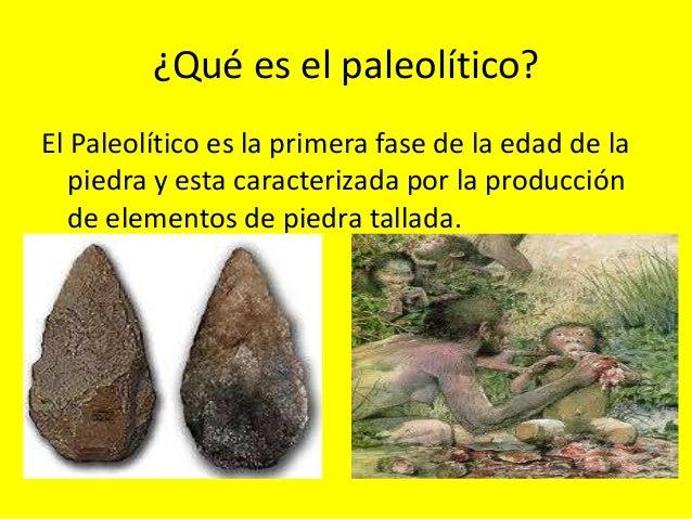Resultado de imagen de el paleolitico