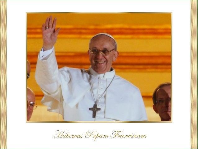 """""""Habemus Papam"""" o """"Habemus Pontificem"""", que traducido al español significa""""tenemos papa o pontífice"""" es una expresión lati..."""