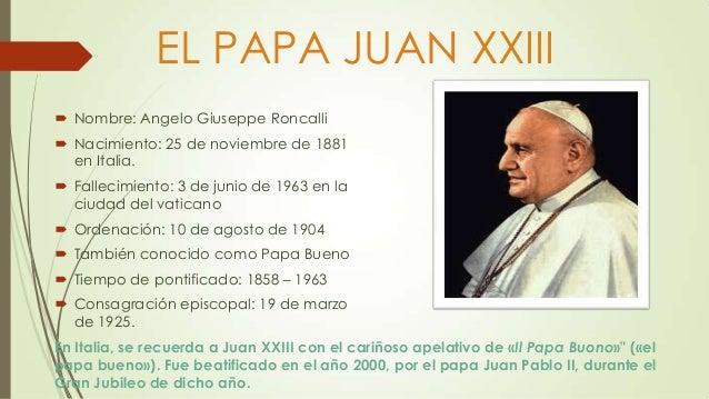 El Papa Juan XXIII y El Papa Francisco