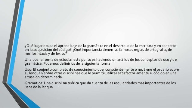 Lexico y gramatica 2 - Marta Sanchez