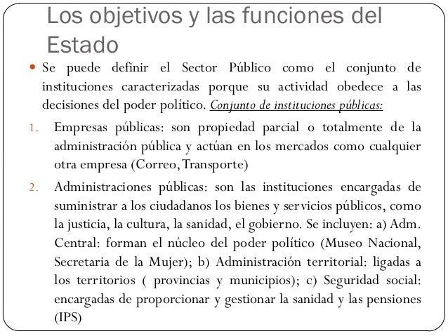 La regulación pública  La regulación de la vida económica es una función esencial del sector público y consiste en establ...