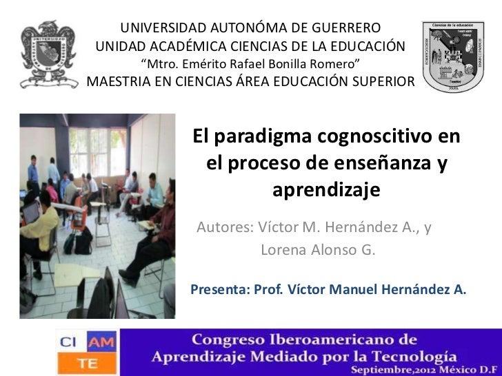 """UNIVERSIDAD AUTONÓMA DE GUERRERO UNIDAD ACADÉMICA CIENCIAS DE LA EDUCACIÓN       """"Mtro. Emérito Rafael Bonilla Romero""""MAES..."""