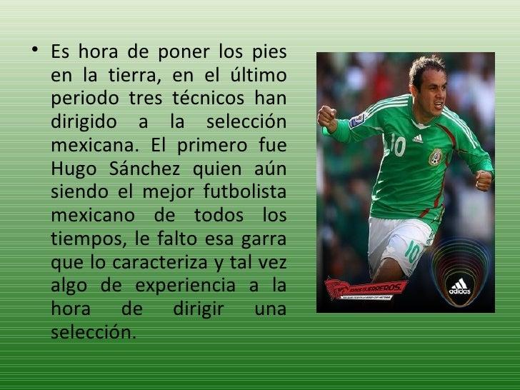 <ul><li>Es hora de poner los pies en la tierra, en el último periodo tres técnicos han dirigido a la selección mexicana. E...