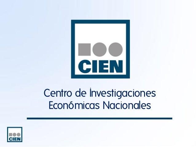 Centro de Investigaciones Económicas Nacionales