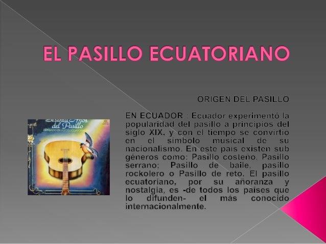 El pasillo ecuatoriano - Colocar cuadros en el pasillo ...