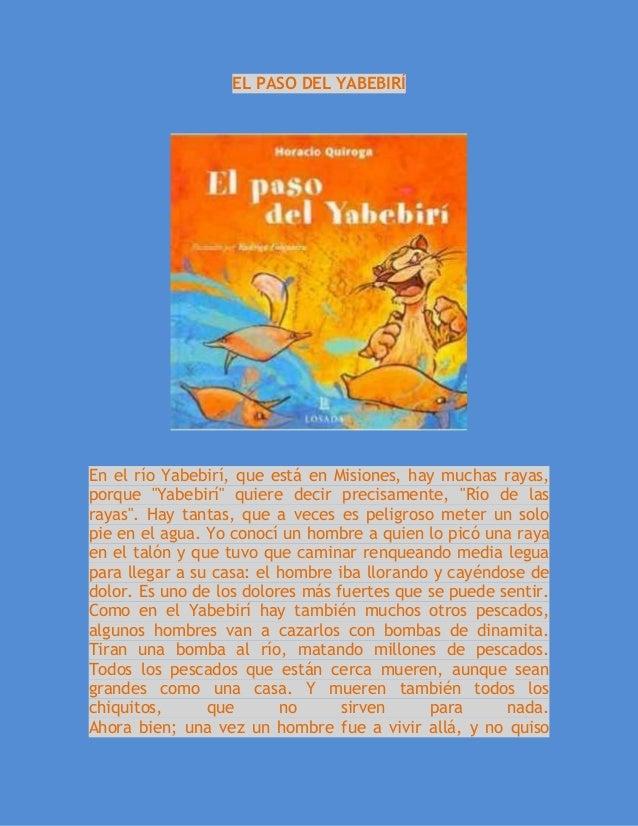El paso del yabebiri actividad 2 for Que quiere decir clausula suelo