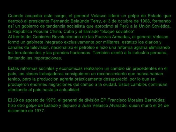 f31f08e7b9 El perú hacia la segunda mitad del siglo XX