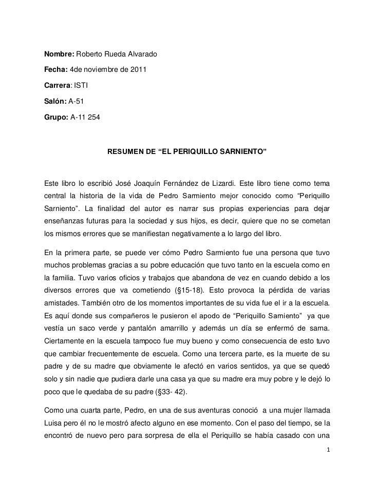 Nombre: Roberto Rueda AlvaradoFecha: 4de noviembre de 2011Carrera: ISTISalón: A-51Grupo: A-11 254                   RESUME...