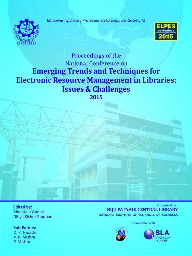proceedings of the national conference on emerging trends