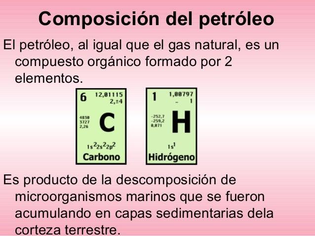 petróleo primero