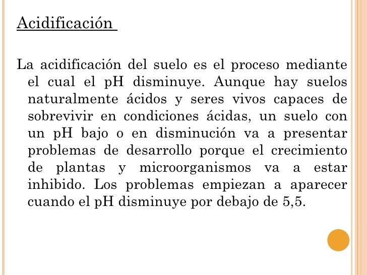 El p h y sus implicaciones en el suelo for Ph piscina bajo consecuencias