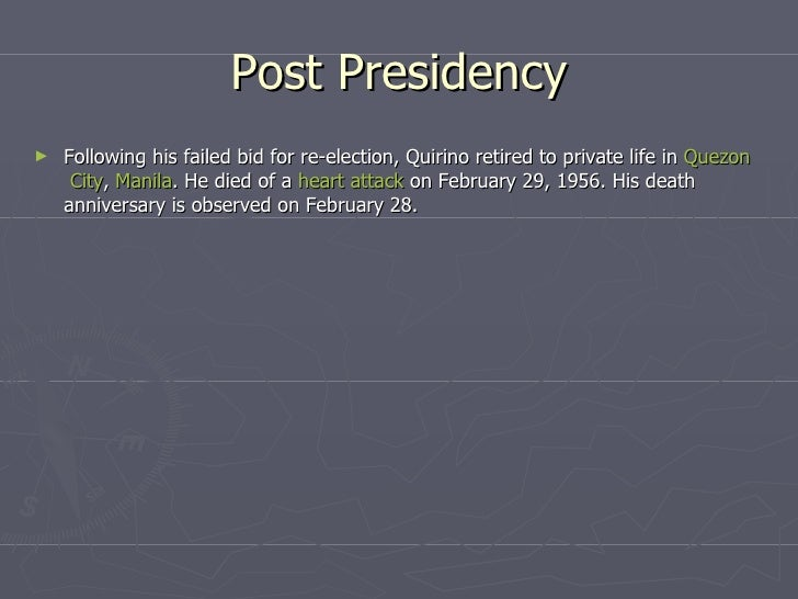 elpidio quirino problems Elpidio quirino - though he was an incredibly intelligent man the achievements of   there are also issues regarding his administrations failure in handling the.