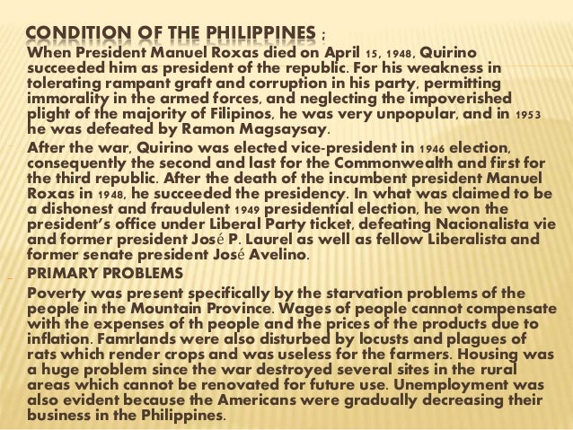 Elpidio quirino minimum wage law