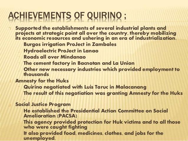 elpidio quirino tagalog