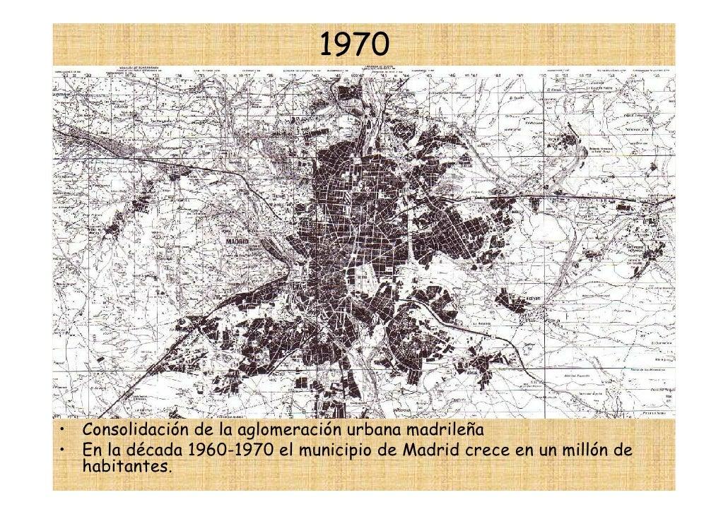 Plano urbano de Madrid 1970