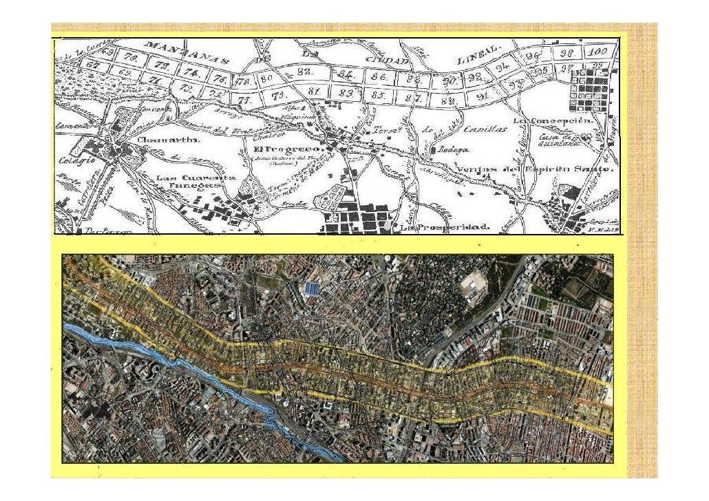 Plano urbano de Madrid desde el Ensanche al s XXI 2 parte Com